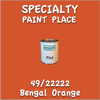 49/22222 Bengal Orange Pint Can