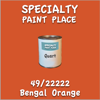 49/22222 Bengal Orange Quart Can