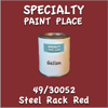 49/30052 Steel Rack Red Gallon Can