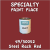 49/30052 Steel Rack Red Quart Can