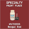 49/33333 Bengal Red 2oz Bottle with Brush