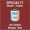 49/33333 Bengal Red Gallon Can
