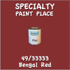 49/33333 Bengal Red Pint Can