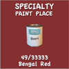 49/33333 Bengal Red Quart Can