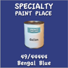 49/44444 Bengal Blue Gallon Can