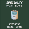 49/55555 Bengal Green Quart Can