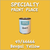 49/66666 Bengal Yellow Quart Can