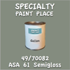 49/70082 ASA 61 Semigloss Gallon Can