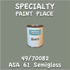 49/70082 ASA 61 Semigloss Quart Can