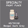 49/70158 Bengal Dark Grey 2oz Bottle with Brush