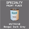49/70158 Bengal Dark Grey Gallon Can