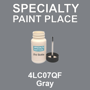 4LC07QF Gray - AkzoNobel 2oz bottle