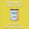 59/21157 SD Deer Yellow Gallon Can