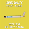 59/21157 SD Deer Yellow Pen