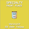 59/21157 SD Deer Yellow Pint Can