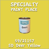 59/21157 SD Deer Yellow Quart Can
