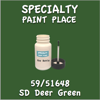 59/51648 SD Deer Green 2oz Bottle with Brush