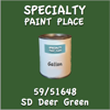 59/51648 SD Deer Green Gallon Can