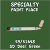 59/51648 SD Deer Green Pen