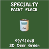 59/51648 SD Deer Green Pint Can