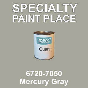 6720-7050 Mercury Gray - TCI quart
