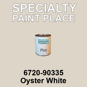 6720-90335 Oyster White - TCI pint
