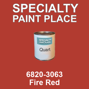 6820-3063 Fire Red - TCI quart