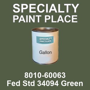 8010-60063 Fed Std 34094 Green - TCI gallon