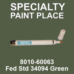 8010-60063 Fed Std 34094 Green - TCI pen