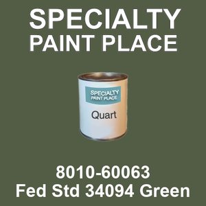 8010-60063 Fed Std 34094 Green - TCI quart