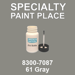 8300-7087 61 Gray - TCI 2oz bottle