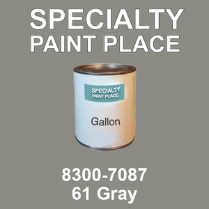 8300-7087 61 Gray - TCI gallon