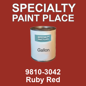 9810-3042 Ruby Red - TCI gallon