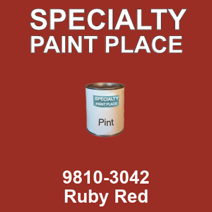 9810-3042 Ruby Red - TCI pint