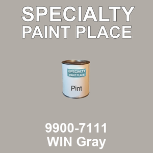 9900-7111 WIN Gray - TCI pint