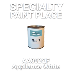 AA002QF Appliance White - AkzoNobel - Quart Can