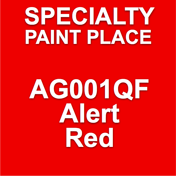AG001QF Alert Red