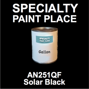 AN251QF Solar Black - AkzoNobel - Gallon Can