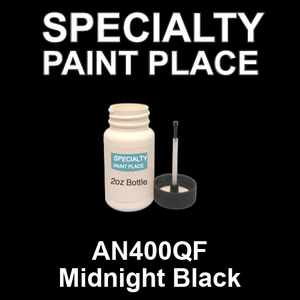 AN400QF Midnight Black - AkzoNobel - 2oz Bottle with Brush