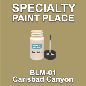 BLM-01 Carisbad Canyon - Bureau of Land Management - 2oz Bottle with Brush