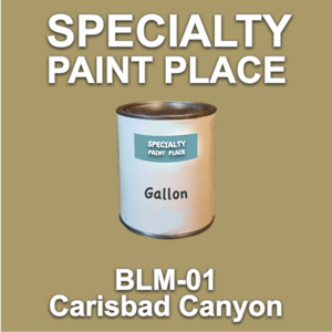 BLM-01 Carisbad Canyon - Bureau of Land Management - Gallon Can