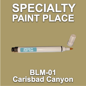 BLM-01 Carisbad Canyon - Bureau of Land Management - Pen