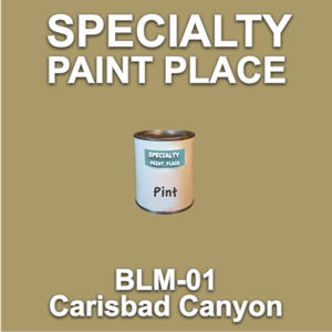 BLM-01 Carisbad Canyon - Bureau of Land Management - Pint Can