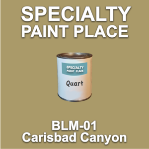 BLM-01 Carisbad Canyon - Bureau of Land Management - Quart Can
