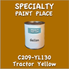 C209-YL130 Tractor Yellow Gallon Can
