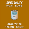 C209-YL130 Tractor Yellow Quart Can