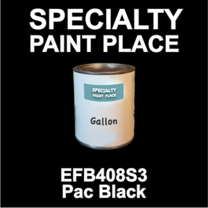 EFB408S3 PAC Black - Axalta - Gallon Can