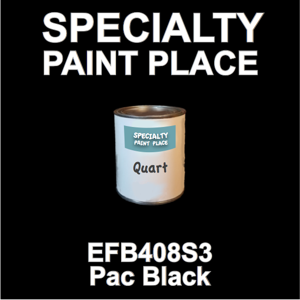 EFB408S3 PAC Black - Axalta - Quart Can