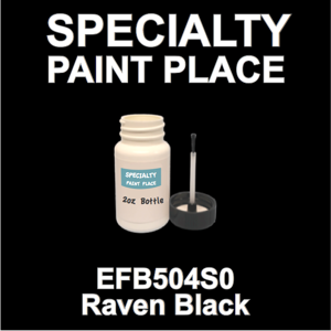 EFB504S0 Raven Black - Axalta - 2oz Bottle with Brush