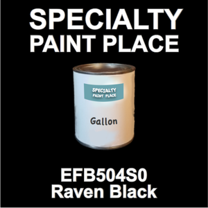 EFB504S0 Raven Black - Axalta - Gallon Can